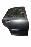 GENUINE VOLVO S40 REAR DRIVER SIDE DOOR IN DARK GREY 2004-2008